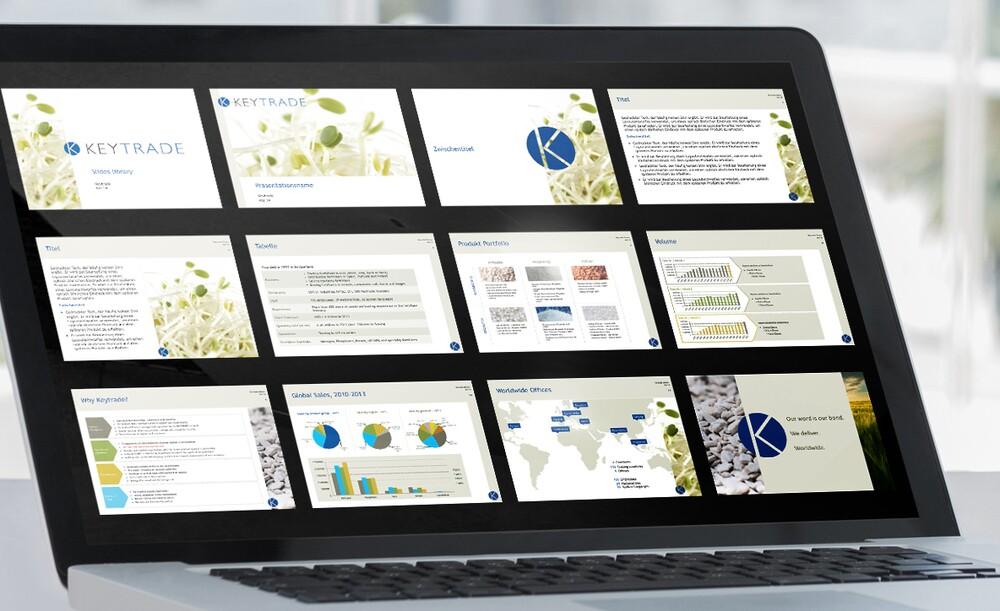 Beispiele und Referenzen PowerPoint und Präsentationen